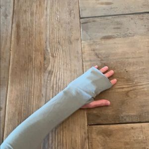 Ripple Yoga arm warmers